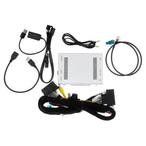 Адаптер із функцією CarPlay для під'єднання камер в Mercedes-Benz із системою NTG5.0/5.1 Прев'ю 7