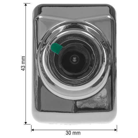 Car Front View Camera for Mercedes-Benz C/E-Classes 2015-2017 MY in Chrome Case Preview 1