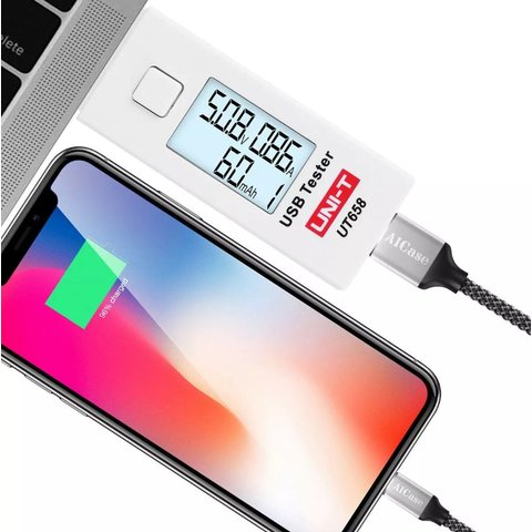 USB-тестер UNI-T UT658 - Просмотр 6