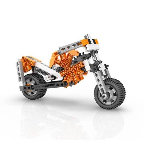 STEM-конструктор Engino Механіка: колеса, осі та похилі площини Прев'ю 4