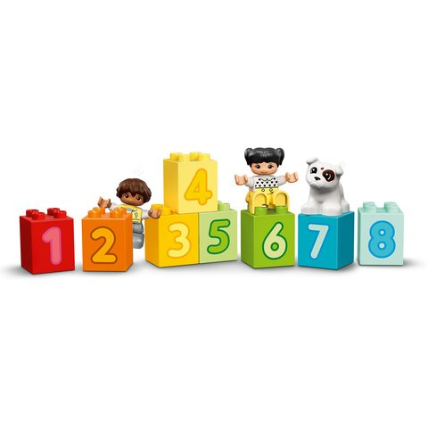 Конструктор LEGO DUPLO Потяг із цифрами – вчимося рахувати 10954 Прев'ю 4